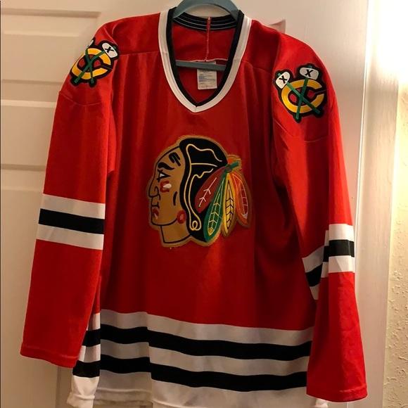 325c9d84032 CCM Other   Chicago Blackhawks Sweater 1990s   Poshmark